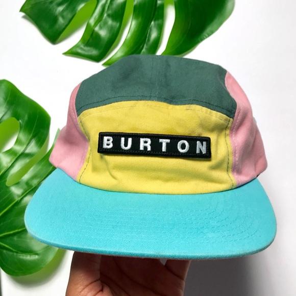 705e1ffb Burton Accessories | Candy Color Five Panel Brimmed Hat | Poshmark
